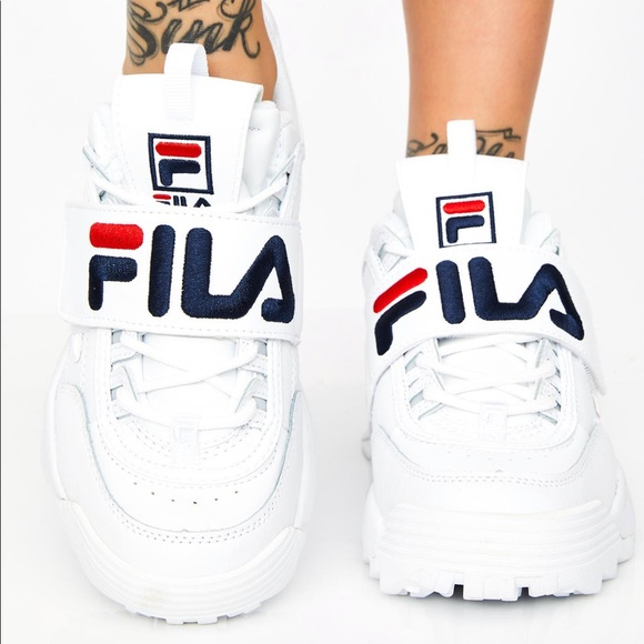 9656a249f36 Fila Shoes - Fila Disruptor II Platform Sneakers Shoes 8.5